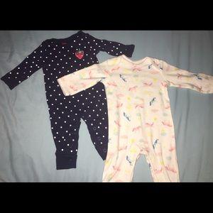 Other - BabyGirl Body Suit Sleepers